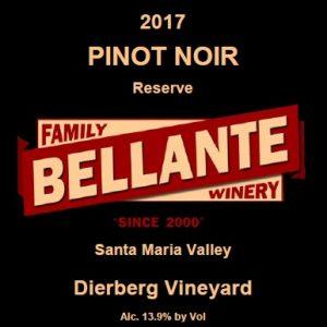 2017 Pinot Noir Reserve, Dierberg Vineyard