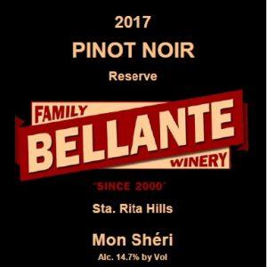 2017 Pinot Noir Reserve, Mon Sheri