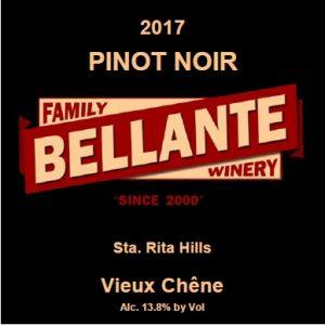 2017 Pinot Noir, Vieux Chene